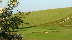 Royston GC: 15th green