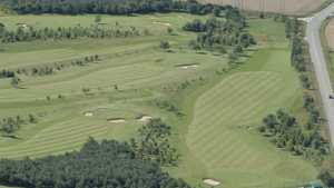Kinloss Country GC: aerial view
