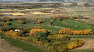 Davidson GC: Aerial view