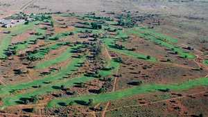 Upington GC: Aerial view