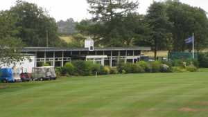 Harwood GC: clubhouse
