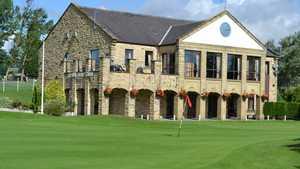 Ryton GC: the clubhouse