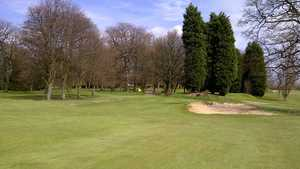 The 8th green at Wakefield