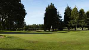 3rd green at Cherry Lodge