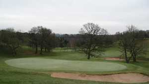 Chesterton Valley GC: 18th green