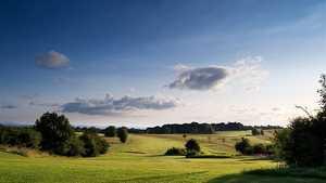 7th hole at Stinchcombe Hill