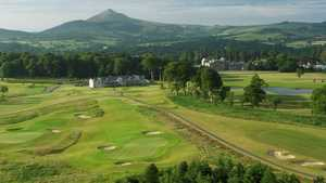 The clubhouse at Powerscourt Golf Club