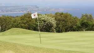 11th hole on the Teignmouth course