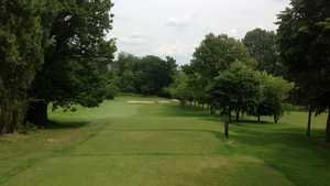 The 10th hole at Cocks Moors Woods