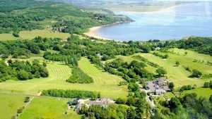 Colvend GC: Aerial View