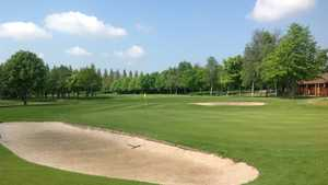 Greenside bunkers at Calderfields