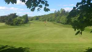 18th green at Keighley