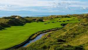 Bunkering at the Trump International Golf Links