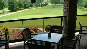 Cherokee Hills GC - Coppertop: clubhouse terrace