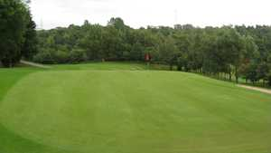18th green at Brookdale
