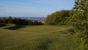 Hollingbury Park GC: downhill approach