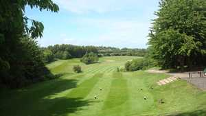 View from Boughton Golf Course