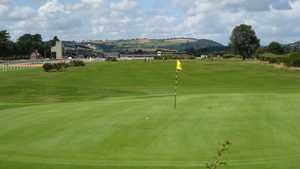 1st green at Ludlow GC