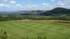 7th green at Church Stretton Golf Club