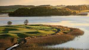 #7 on Faldo course at Lough Erne