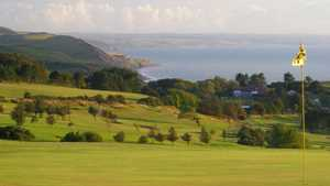 6th green at Aberystwyth