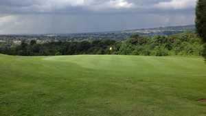 18th green at Grange Park