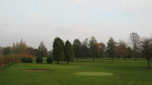 18th green at Withington