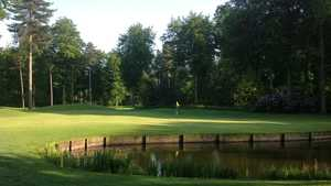 6th green on the Forest Course