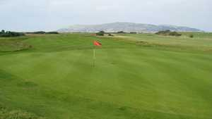 10th green at Conwy Golf Club