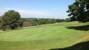 18th green at Chipstead