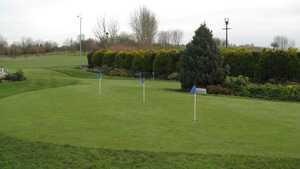 Putting green at the Ansty Golf Centre