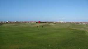 18th green at Blackpool North Shore