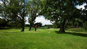 10th tee at Tytherginton Golf Club