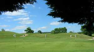 The practice area at Hinksey Heights