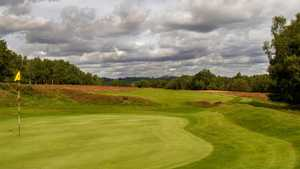 8th green on the Old course at Royal Ashdown Fores