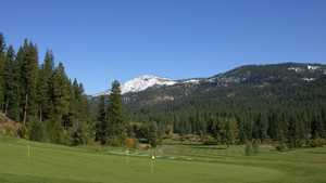 Plumas Pines Golf Resort: Practice area