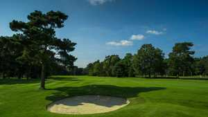 The well manicured greens at Pine Ridge