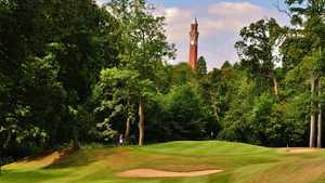 1st green at Edgbaston Golf Club