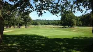 18th hole at Leatherhead Golf Club