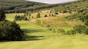 Fairway from Galashiels Golf Club