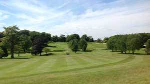 10th green at Shaw Hill Golf Club