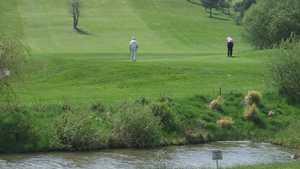 14th green at Wareham Golf Club