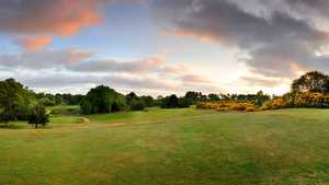 18th on the Thorpeness golf course