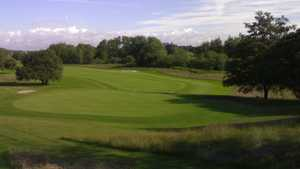 The 10th green at Mottram Hall