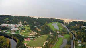 Dunes GCC: Aerial view