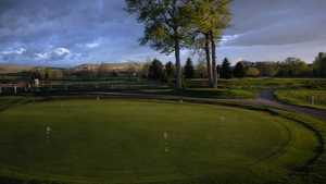 Cottonwood Hills GC: Practice area
