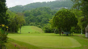 Los Anaucos GC: putting green