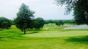Hidden Pines CC: Practice area