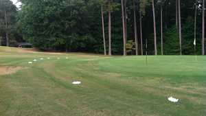 Peachtree Hills CC: Practice area
