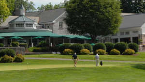 Lehigh CC: Practice area & clubhouse